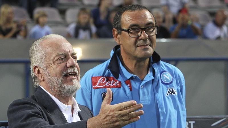 Chủ tịch Napoli nói điều bất ngờ về việc Sarri chuyển đến Juventus - Bóng Đá