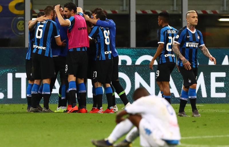 Inter Milan giành vé dự Champions League sau 90 phút siêu kịch tính - Bóng Đá