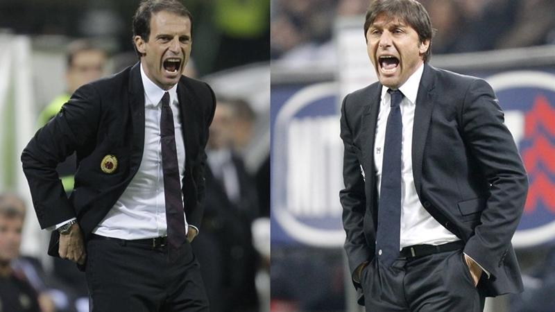 Điểm khác biệt giữa Conte và Allegri - Bóng Đá