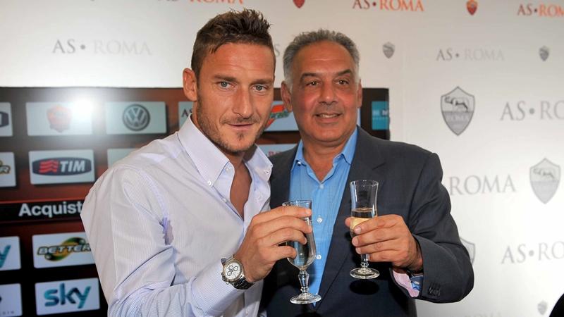 Totti rời AS Roma - Bóng Đá