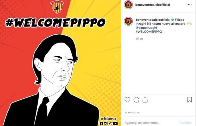CHÍNH THỨC: Filippo Inzaghi có bến đỗ mới - Bóng Đá
