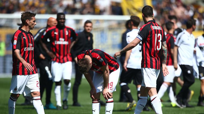 CHÍNH THỨC! AC Milan bị cấm thi đấu tại Europa League - Bóng Đá