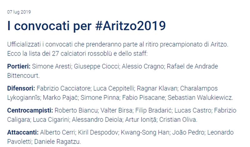 Cagliari gạch tên Barella khỏi danh sách triệu tập - Bóng Đá