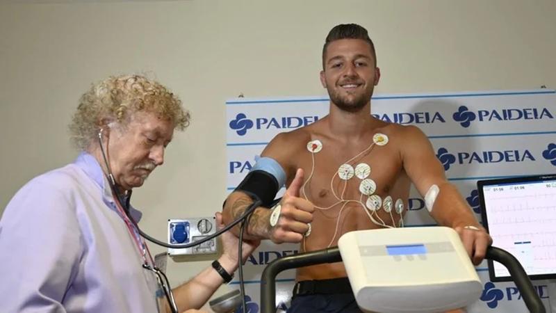Milinkovic-savic kiểm tra y tế - Bóng Đá