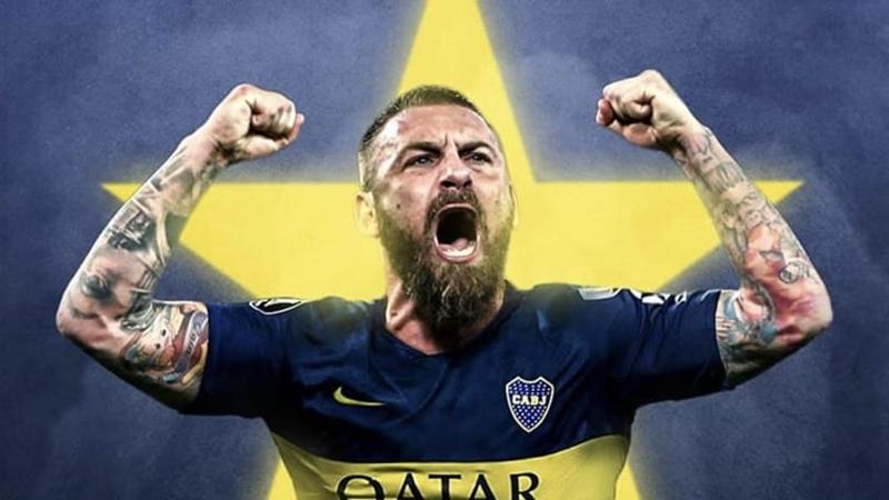 De Rossi về Boca Juniors - Bóng Đá