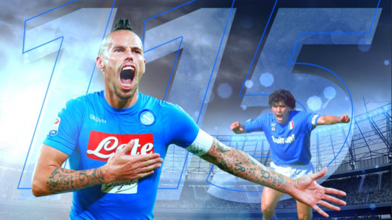 Marek Hamsik, biểu tượng Napoli từng khiến Man Utd quyết tâm chiêu mộ - Bóng Đá