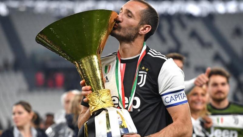 Chiellini chỉ ra 3 đội bóng cạnh tranh chức vô địch Serie A - Bóng Đá