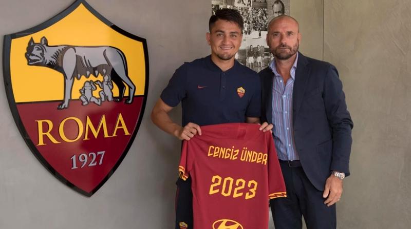 Cengiz Under gia hạn hợp đồng với AS Roma - Bóng Đá