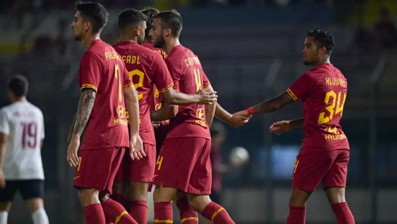 Ảnh trận Arezzo - AS Roma - Bóng Đá
