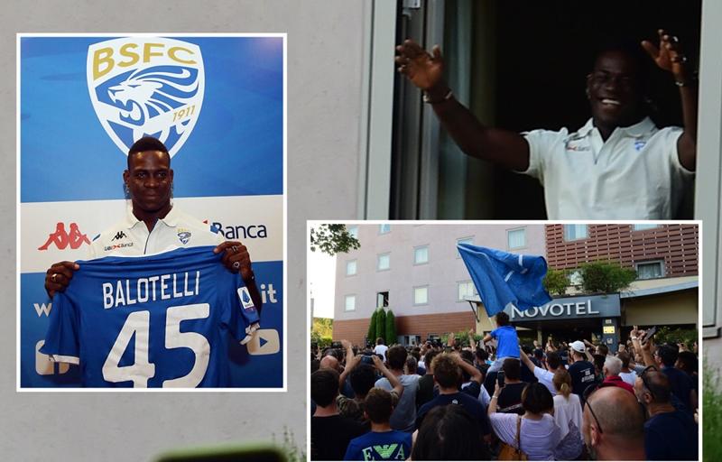 Balotelli trở về Brescia: Hãy để tình yêu và đẳng cấp lên tiếng - Bóng Đá