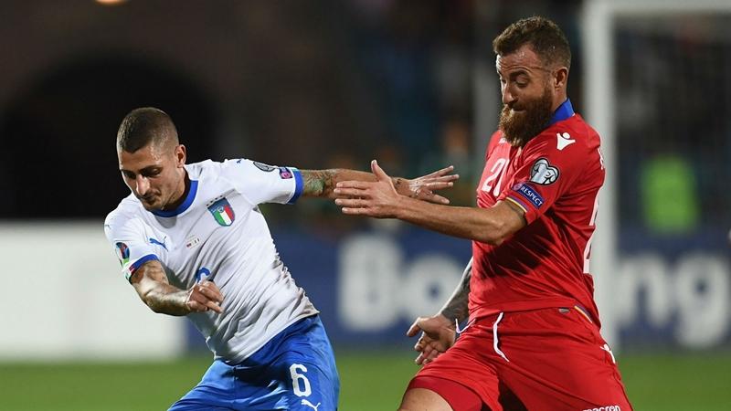 Đấu Phần Lan, Italia gặp tổn thất lớn (Verratti không thể thi đấu) - Bóng Đá