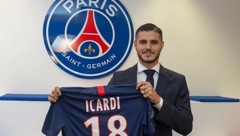 Chủ tịch Napoli tiết lộ lí do Icardi về PSG - Bóng Đá