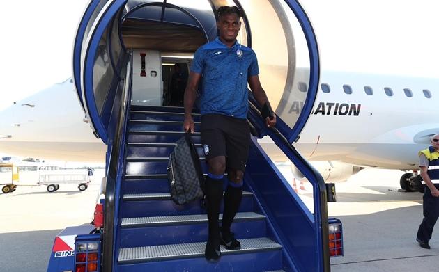 Ảnh Atalanta đến Zagreb - Bóng Đá