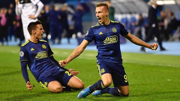 Ảnh trận Dinamo Zagreb - Atalanta - Bóng Đá