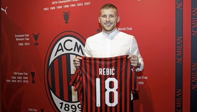 Inter Milan từng muốn mua Ante Rebic - Bóng Đá