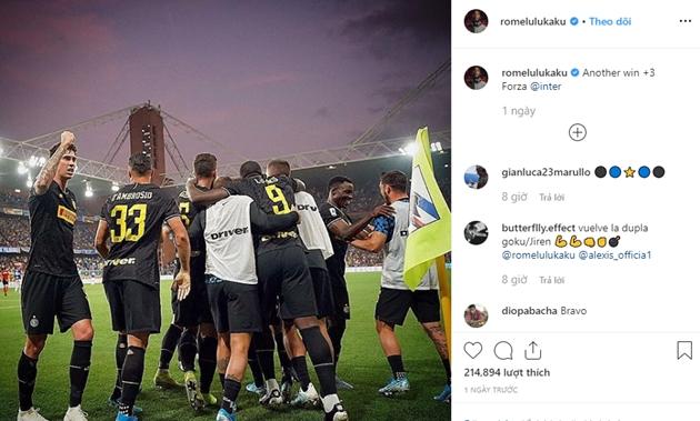 Lukaku đăng thông điệp lên Instagram - Bóng Đá