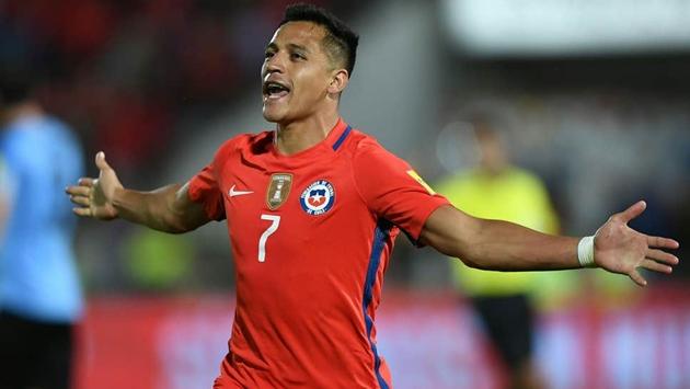 10 cầu thủ có số lần khoác áo đội tuyển Chile nhiều nhất: Alexis Sanchez và