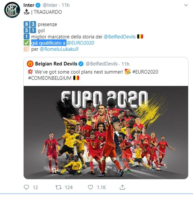 Hành động của Inter Milan trong ngày Lukaku lập cột mốc mới - Bóng Đá
