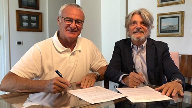 Ranieri về Sampdoria - Bóng Đá