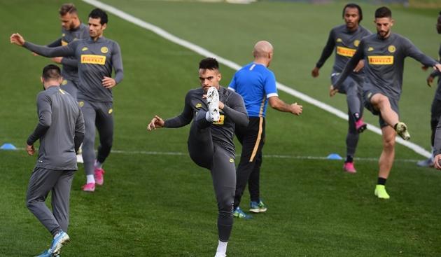 Ảnh tập Inter Milan trước đại chiến với Dortmund - Bóng Đá