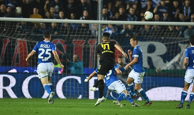 Sự cô đơn của Balotelli và những hình ảnh đẹp trong trận Brescia - Inter Milan - Bóng Đá