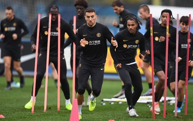 Ảnh tập Inter Milan - Bóng Đá