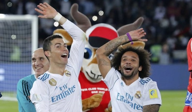 Marcello tiết lộ điều Ronaldo đã nói trước trận chung kết giữa Real - Juventus - Bóng Đá