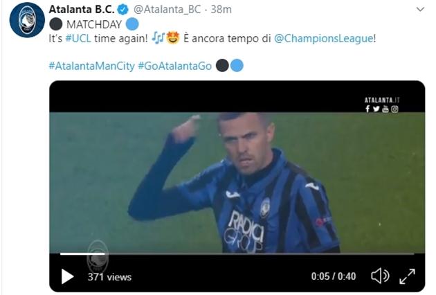 Atalanta chuẩn bị trước trận gặp Man City - Bóng Đá