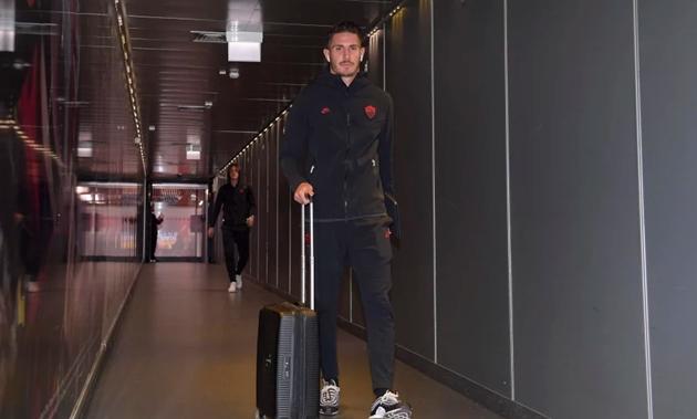 AS Roma có mặt ở Đức, sẵn sàng đấu Gladbach - Bóng Đá