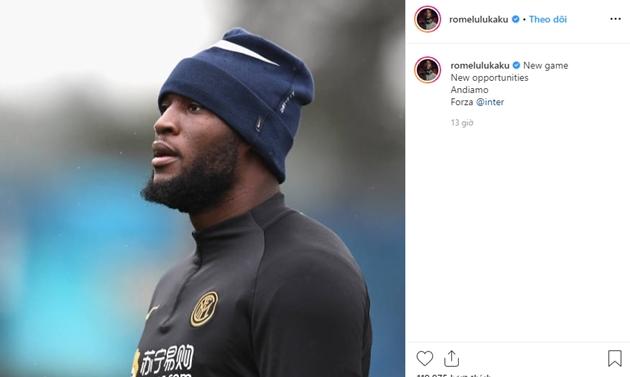Lukaku đăng trên Instagram - Bóng Đá
