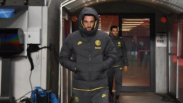Ảnh Inter Milan có mặt ở Prague - Bóng Đá