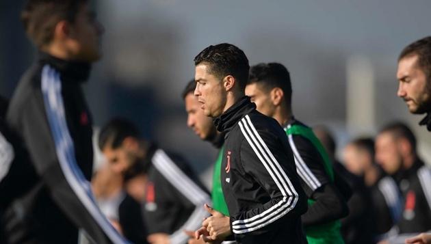 Juventus tập - Bóng Đá