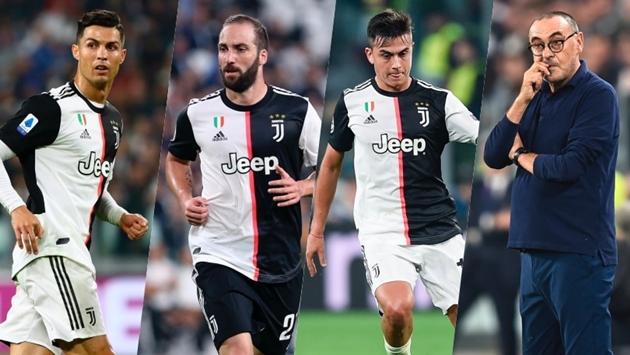 Sau 14 vòng, Juventus của Sarri ghi ít bàn thắng hơn của Allegri, Conte - Bóng Đá