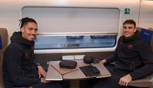ảnh AS Roma đến Milano - Bóng Đá