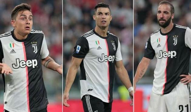Juventus sẽ không sử dụng Dybala - Higuain - Ronaldo cùng một lúc - Bóng Đá
