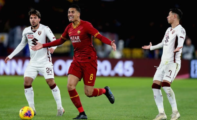 Smalling mắc lỗi nghiêm trọng, AS Roma thất bại trước Torino - Bóng Đá