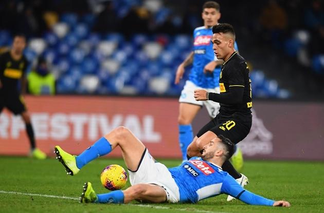 Lukaku tỏa sáng, Inter Milan nhẹ nhàng vượt qua Napoli - Bóng Đá