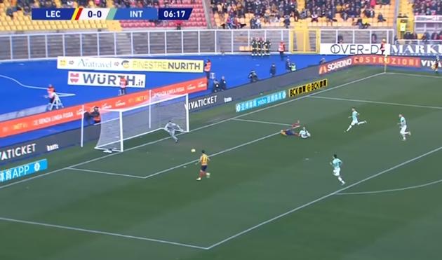 Ảnh trận Lecce - Inter Milan - Bóng Đá