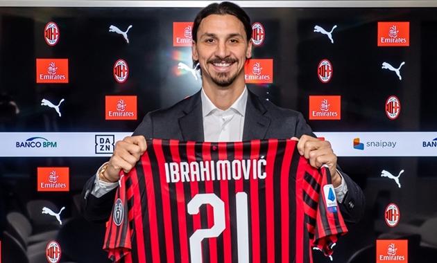 Đây, điều kì lạ Ibrahimovic đang tạo ra ở AC Milan - Bóng Đá