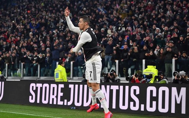 Ronaldo ghi bàn, Juventus nhẹ nhàng đánh bại AS Roma - Bóng Đá