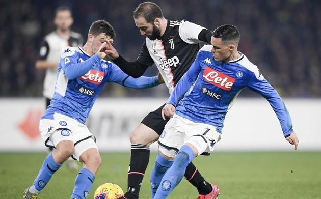 Ronaldo ghi bàn, Juventus vẫn thua sốc trước Napoli - Bóng Đá