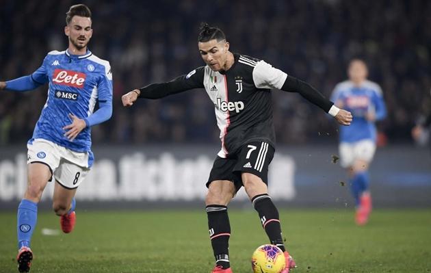 Ronaldo đã hoàn thành buổi tập của Juventus - Bóng Đá
