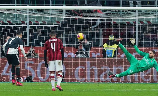 Ảnh trận AC Milan 1-1 Juventus - Bóng Đá