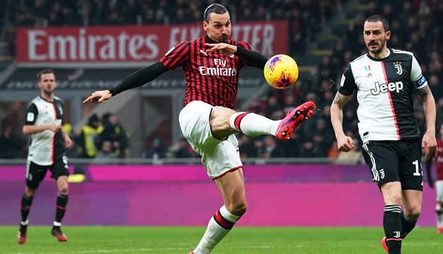 Ibrahimovic vắng mặt ở trận lượt về Coppa Italia - Bóng Đá