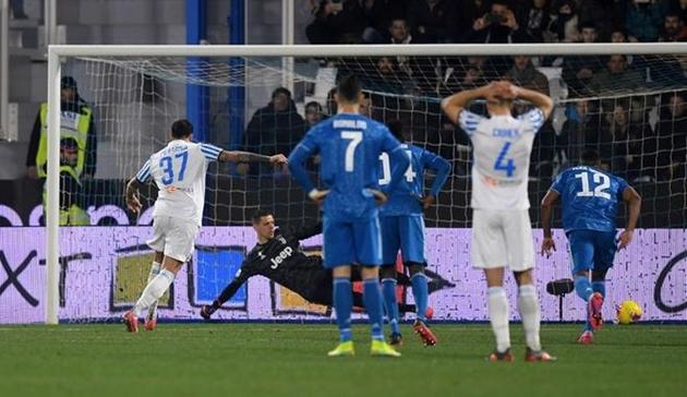 Ảnh trận SPAL - Juventus - Bóng Đá