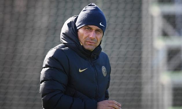 Inter Milan tập - Bóng Đá