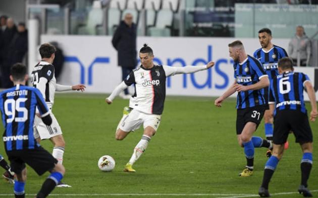 Ronaldo khô.ng thể phá. kỉ lụ.c ghi bà.n ở Serie A - Bó.ng Đá.