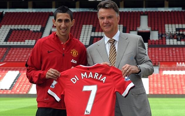 8 tân binh của Man Utd trong mùa hè năm 2014: Di Maria, Herrera và ai nữa? - Bóng Đá