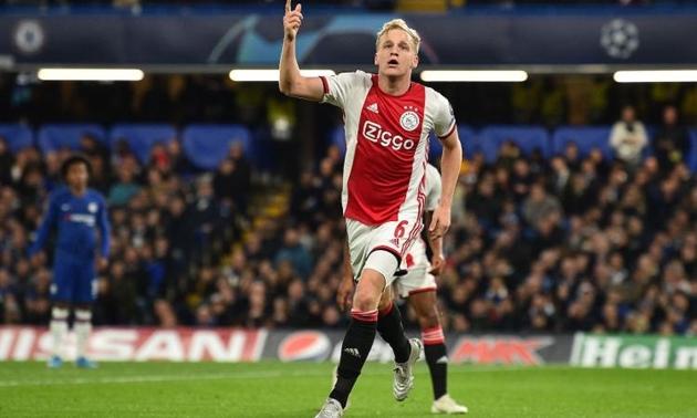 Nhờ Mino Raiola, Juventus sẽ có Donny Van de Beek - Bóng Đá