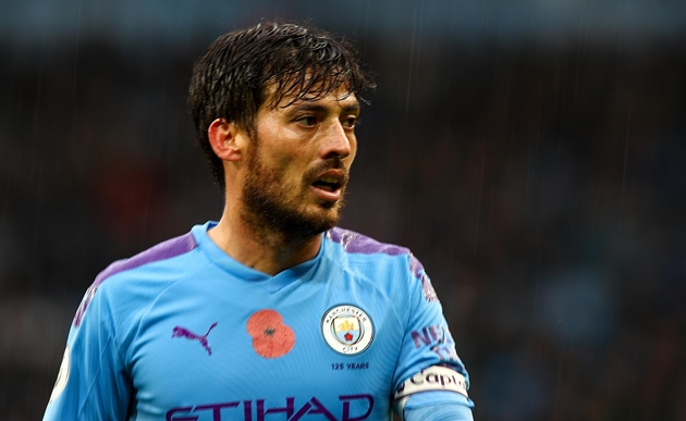 Man City's David Silva to agree short-term contract extension - sources - Bóng Đá